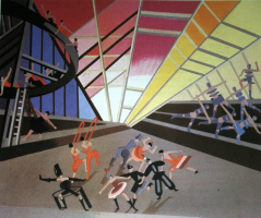 Цирк. Эскиз декорации 1930
