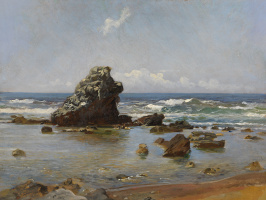 Николай Николаевич Ге. Морской залив. Ливорно