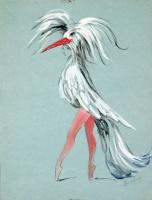 "Доротея Таннинг. Изысканность. Дизайн костюма для балета ""Ночная тень"""