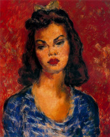 Артуро Соуто. Красотка в синем