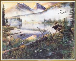 Эндрю Кисс. Вид на горы