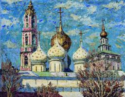 Петр Иванович Петровичев. Монастырь