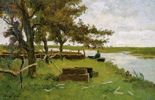 Ван Хорссен. Лодка рыбака