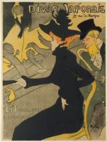 """Henri de Toulouse-Lautrec. Poster """"Japanese sofa"""""""