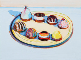 Wayne Thibaut. Eight crab cakes