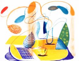 David Hockney. Consumables