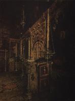 Василий Васильевич Верещагин. Иконостас церкви Иоанна Богослова на Ишне близ Ростова Ярославского