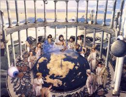 Анджело Ринальди. Боги плоского мира