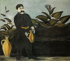 Нико Пиросмани (Пиросманашвили). Саркис, наливающий вино