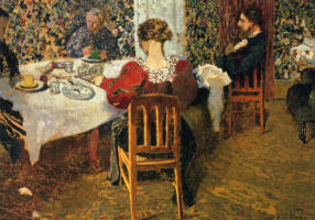 Breakfast at Madam Vuillard