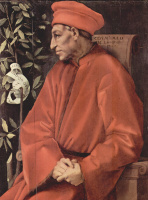 Якопо Понтормо. Портрет Козимо Медичи Старшего