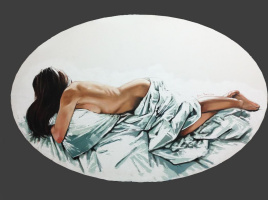 Anna Mikhailovna Krasnaya (Krasnoborodko). Sleep