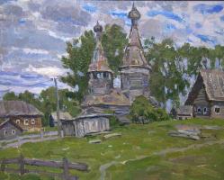 Boris Petrovich Zakharov. Northern motif. Etude.