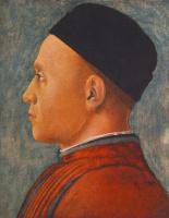 Андреа Мантенья. Портрет человека