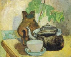 Давид Петрович Штеренберг. Натюрморт с чайником