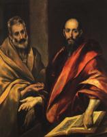 Доменико Теотокопули (Эль Греко). Апостол Петр и Павел