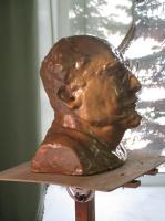 Иван Александрович Долгоруков. Бюст Луначарского