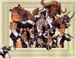 Скотт Густафсон. Животный оркестр. Флейты