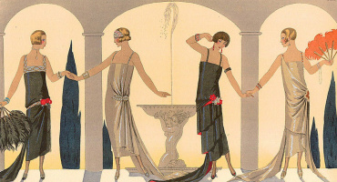 Georges Barbier. A party