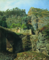 Lev Feliksovich Lagorio. View of Capo di Monte in Sorrento