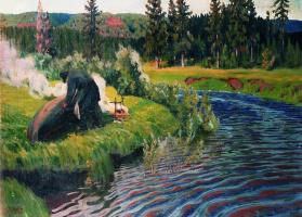 Аркадий Александрович Рылов. Рябь
