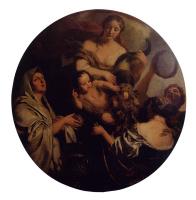 Герард де Лересс. Аллегория с младенцем, что окружен женщинами
