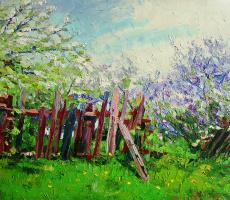 Михаил Рудник. Май в саду