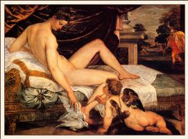 Ламберт Сустрис. Венера и Купидон