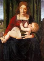 Джованни Антонио Больтраффио. Мадонна с младенцем