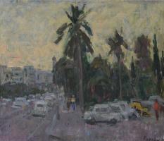Gordon Meerovich Grigory (1909 - 1995). Landscape in Greece