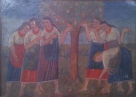 Мария Петровна Холодная. Под яблоней
