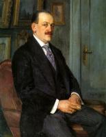 Николай Петрович Богданов-Бельский. Автопортрет