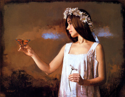 Уильям Уитакер. Бабочка  монарх
