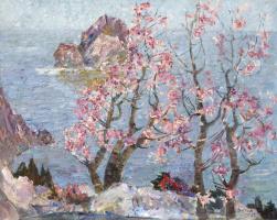 Victor Emelyanovich Belov. Peaceful spring