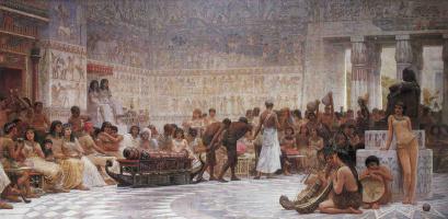 Эдвин Лонгсден Лонг. Египетский праздник