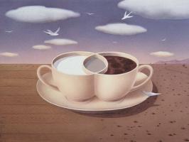 Гурбуз Доган Эксиоглу. Кофе с молоком