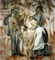 Александр Васильевич Шевченко. «Музыканты» 1913