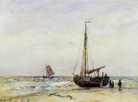 Ян Бартолд Йонгкинд. На побережье