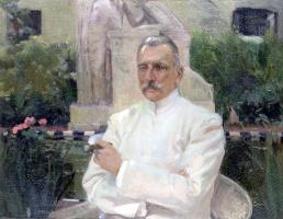 Хоакин Соролья (Соройя). Портрет доктора Амалио Химено-и-Кабаньяса