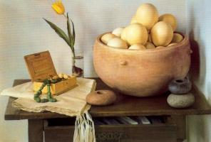 Клаудио Браво. Желтый тюльпан
