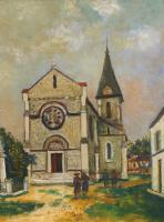 Морис Утрилло. Церковь в провинции