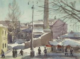 Порфирий Никитич Крылов. Апрель. 1963