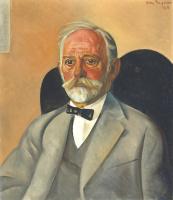 Борис Дмитриевич Григорьев. Мужской портрет