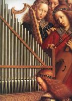 Ян ван Эйк. Гентский алтарь. Ангелы (деталь)