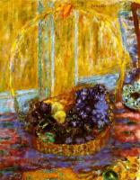 Pierre Bonnard. Fruit basket