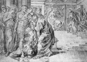 Тхулден,  Тхеодур  Ван Тхулн. Пенелопа сообщает о возвращении Одиссея