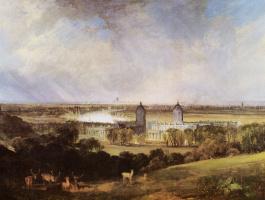 Джозеф Мэллорд Уильям Тёрнер. Лондон, вид из Гринвич-парка