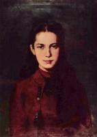 Николае Григореску. Портрет девочки