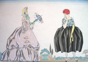 Georges Barbier. Fashion