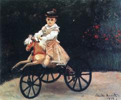 Клод Моне. Жан Моне на лошадке